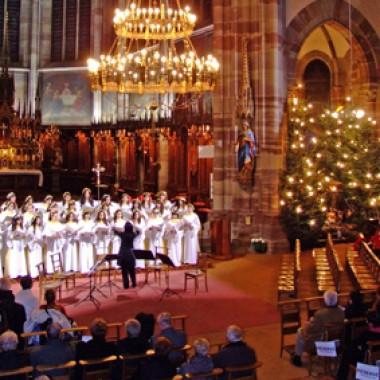 Christmas family mass
