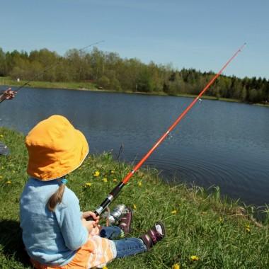 Pêche des enfants
