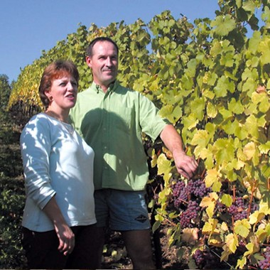Winegrowers Cathy et Gilbert LANG