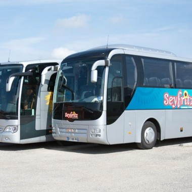 Travel agencies and bus operators Seyfritz