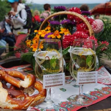 Promenade gastronomique du Schenkenberg à Obernai Réf 11