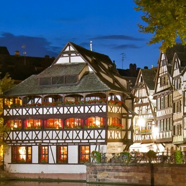 Excursion estivale : Strasbourg by night