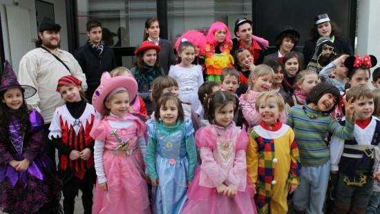 Carnival parade for children