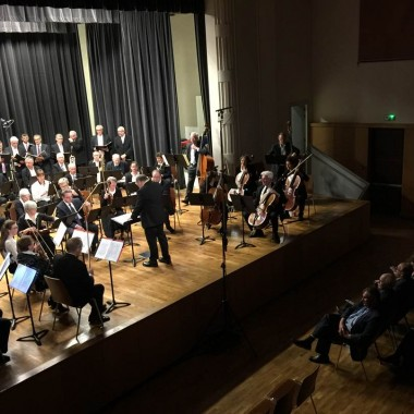The Obernai philharmonic orchestra and Sotto Voce in concert