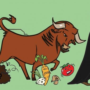 Théâtre de plein air - le bœuf le fumier et le potager