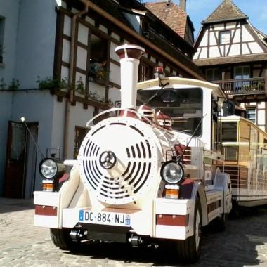 Découverte virtuelle d'Obernai en petit train