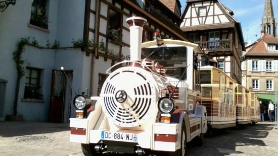 Virtuelle Entdeckungsreise durch Obernai mit dem kleinen Zug