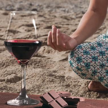 Yoga -  Picknick und Weinverkostung