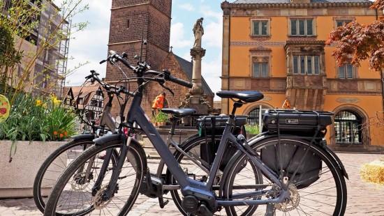 Croq'vélo - Entre plaine et vignoble