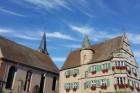 L'hôtel de ville et l'église - ©D.Wolff