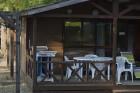Les chalets du camping Campéole La Forêt - (c)J.Heluin