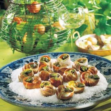 Escargots à l'alsacienne (Schneke)