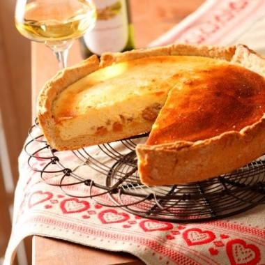 Tarte au fromage blanc (Käsküche)