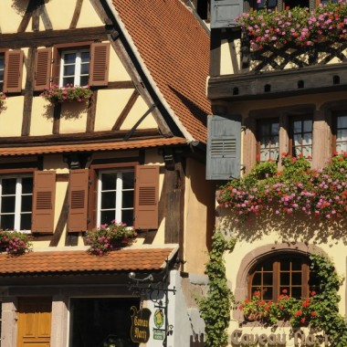 Dambach-la-Ville, medieval city of wine trades