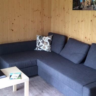 Camping Municipal Le Vallon de l'Ehn : chalet 4