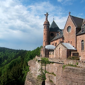 Mont Sainte Odile - a spiritual high place of Alsace