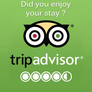 Did you enjoyed your stay ?